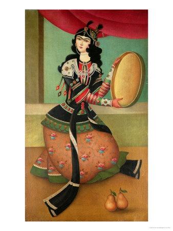 Qajar Style miniature, Iran