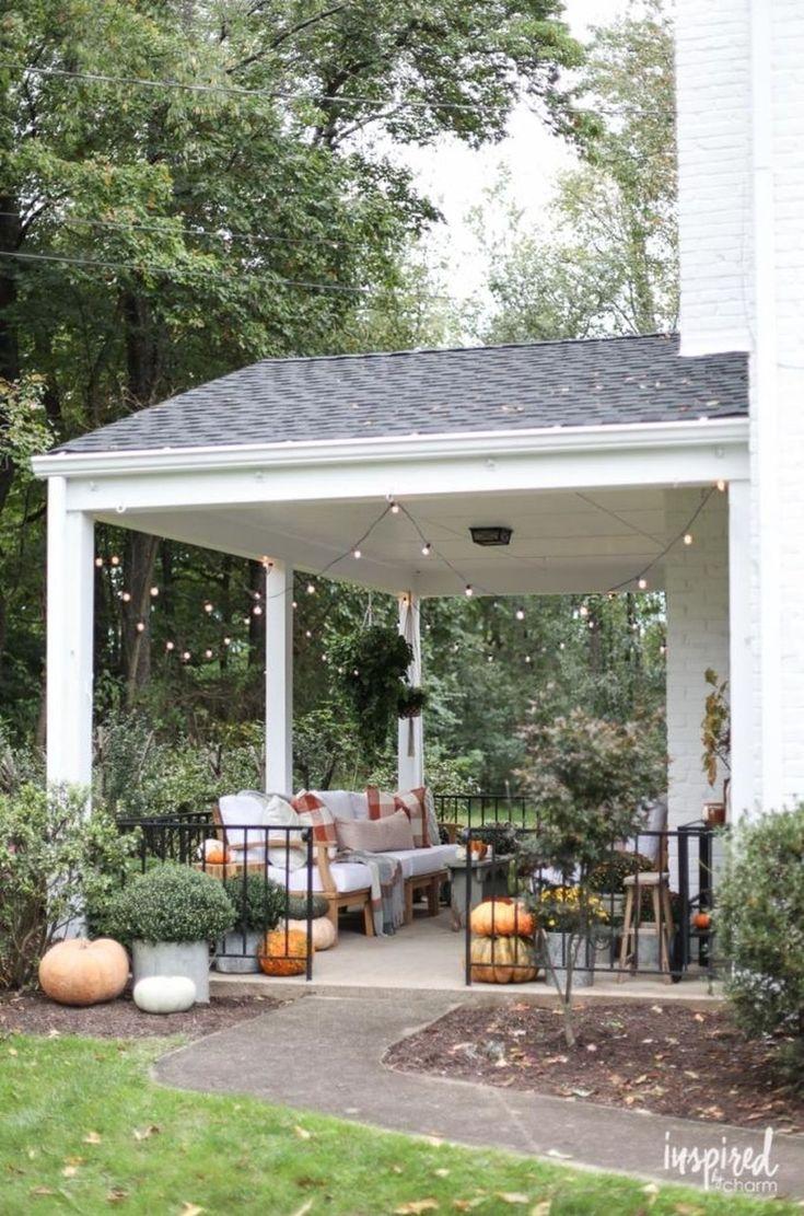 Incredible Wood Backyard Pavilion Design Ideas Outdoor 1: 30+ Incredible Autumn Decorating Ideas For Backyard