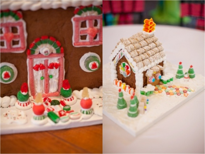 Candy Christmas Ideas, Gingerbread House | Victory Junction Christmas Gala by Anna Paschal Photography | Design bu Leigh Pearce Weddings, Greensboro and Winston Salem North Carolina Event Designer