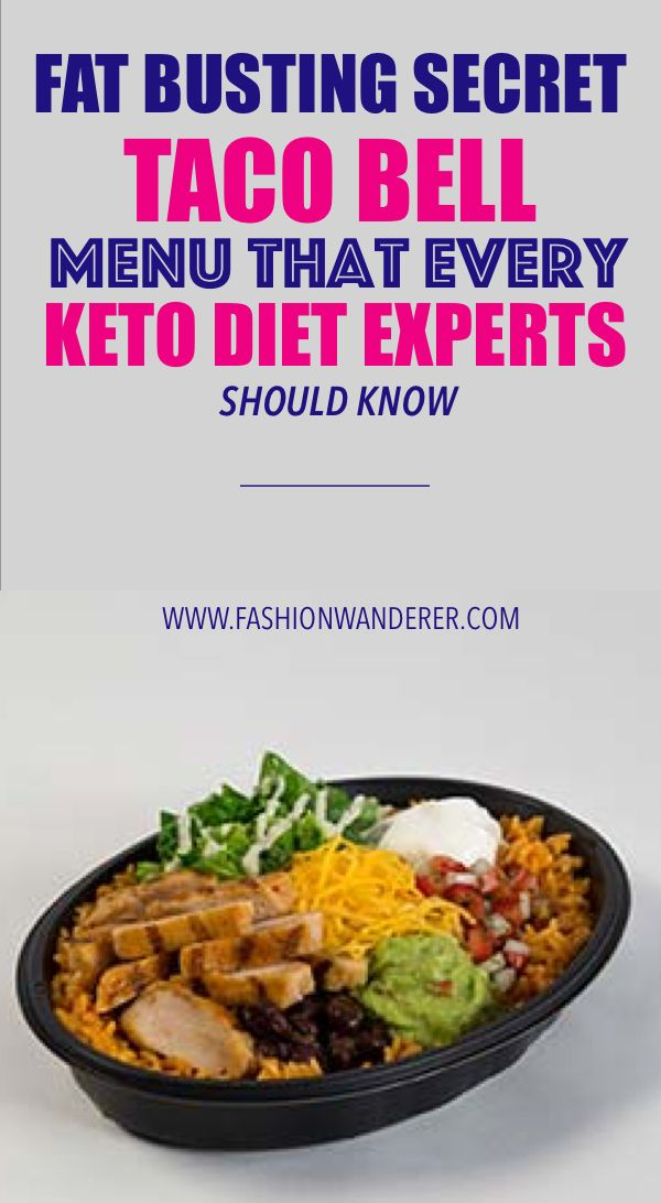 What can i eat on keto at taco bell