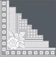 Filet Crochet Designs » Filet Crochet Patterns – Roses