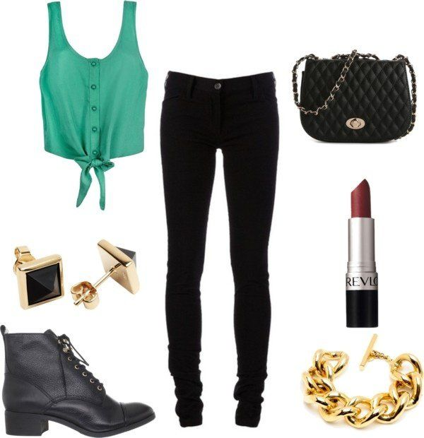 casual bar outfit by jacquelinemasc on Polyvore