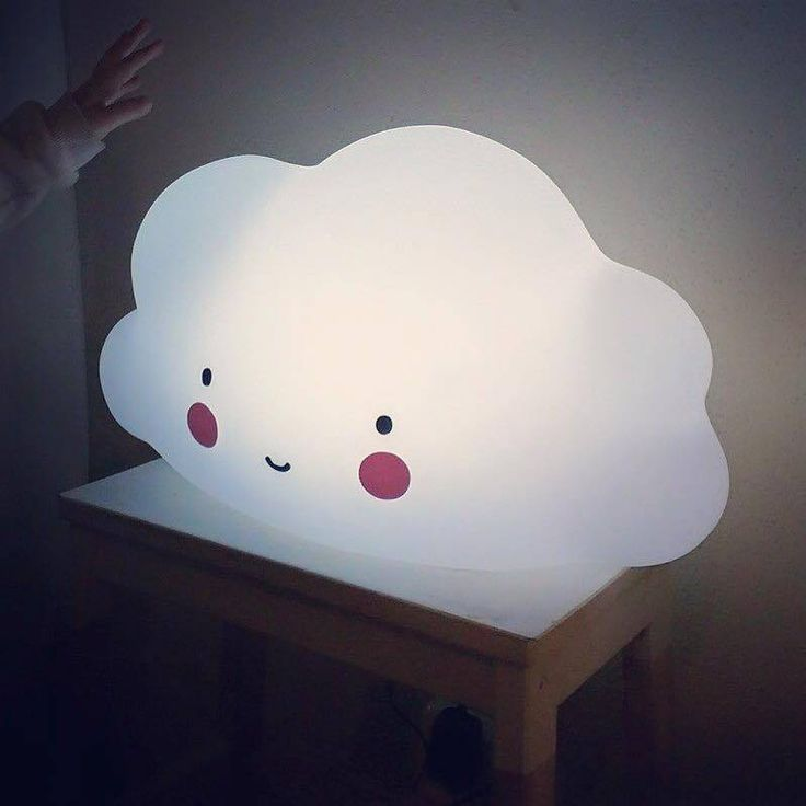 A Little Lovely Company Touch on/off LED wolkenlamp #cloudlamp…