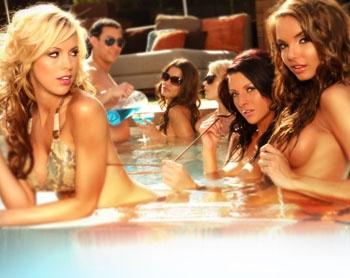 Bare Pool Lounge at the Mirage, Las Vegas