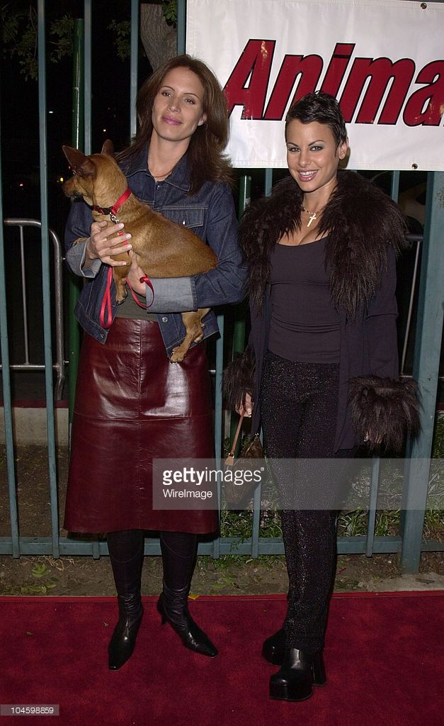 Natalie Raitano & Molly Culver during Shannon Elizabeth Launches Animal Avengers Charity at Club Vinyl in Hollywood, California, United States.