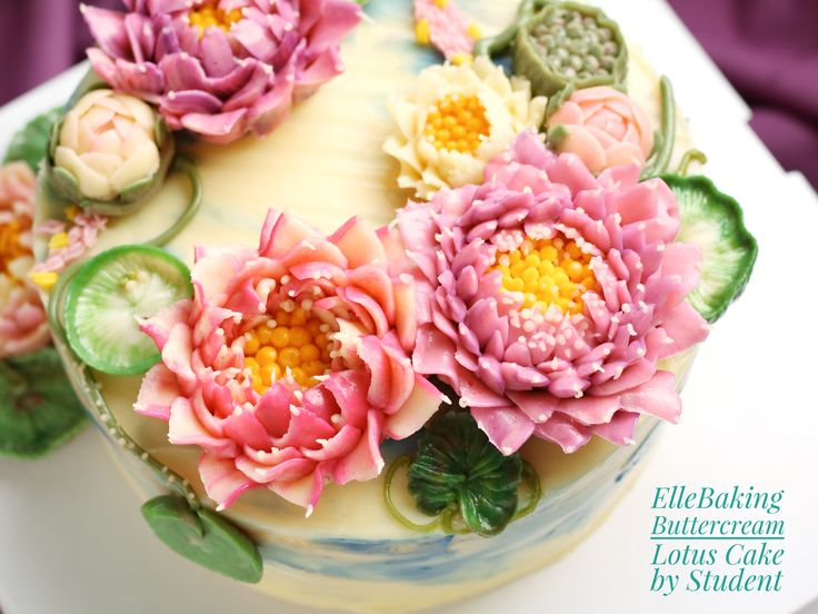 Buttercream Lotus Cake Class