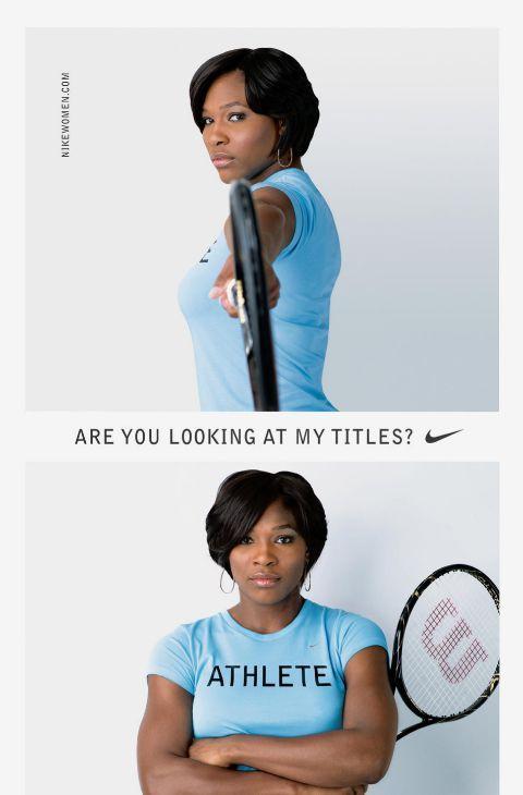 Ya entrado el nuevo milenio, la tenista Serena Williams cogió el testigo y puso rostro a la lucha por la igualdad de género en los carteles de Nike. Este grito de guerra sigue rugiendo fuerte en la actualidad y animando a las chicas de todo el planeta a practicar deporte y a combatir las trabas que el machismo pone en la carrera