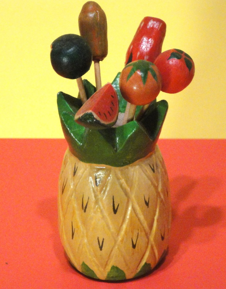 How about a Pina Colada in this great pineapple jug?