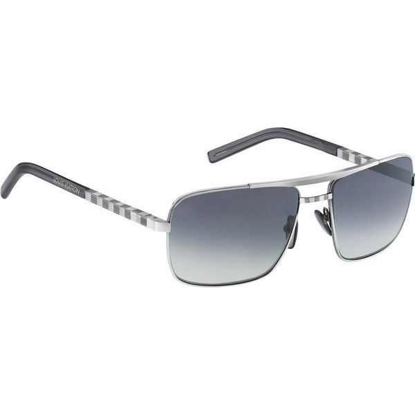 Men Louis Vuitton Sunglasses Attitude Silver Z0260U