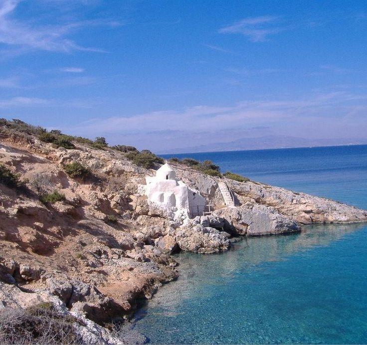Agios Sozon church by the sea ~ Naxos