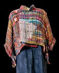 saori weaving jacket