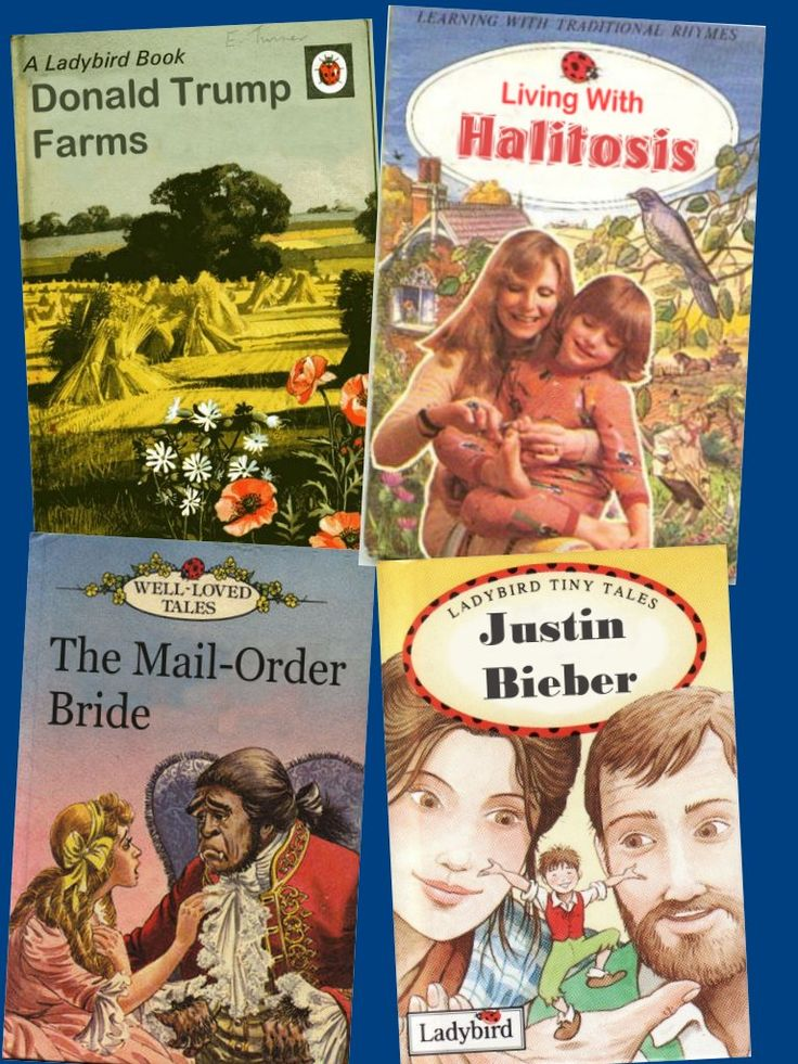 Classic childhood books from yesteryear