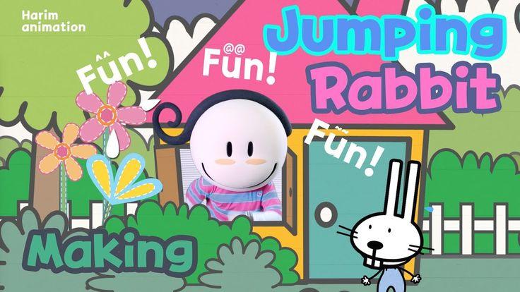 하림쌤의 열두 번째 만들기-점핑토끼 만들기(Making a Jumping rabbit)