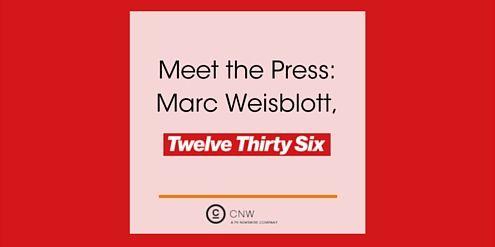 Marc Weisblott, 12:36 (Jun 6/16)