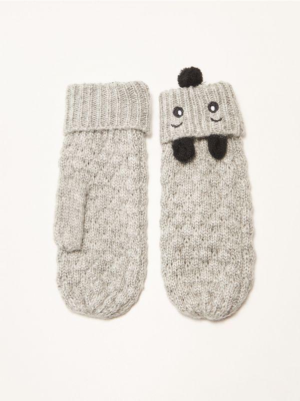 Zabawne rękawiczki z uszami, HOUSE, ST050-09M