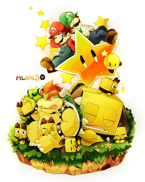Mario and Luigi RPG 3 by Kayakoˊ_ˋ萱仔