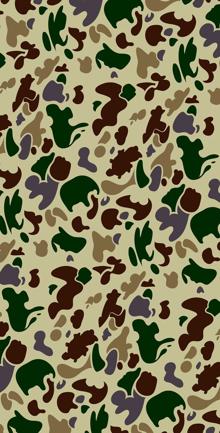 gallery for bape camo wallpaper iphone