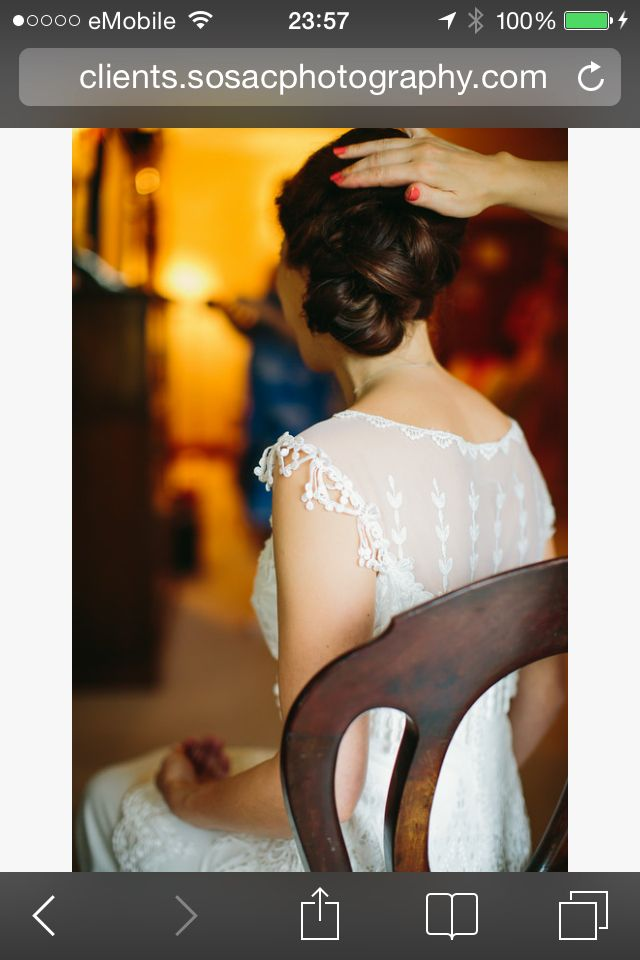 One of the brides I looked after in July