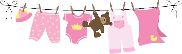 Search art and clotheslines on pinterest for Baby clothesline decoration baby shower