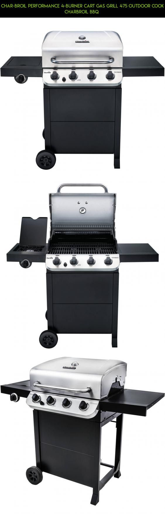 Char-Broil Performance 4-Burner Cart Gas Grill 475 Outdoor Cook Charbroil BBQ  #gadgets #fpv #parts #plans #kit #technology #camera #products #cart #outdoor #drone #tech #racing #shopping #cooking