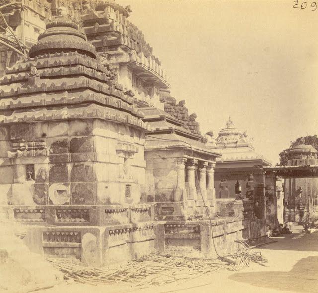 Jagannath Temple - Puri Orissa Part - I - Old Indian Photos