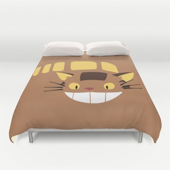 Cute Catbus Duvet Cover