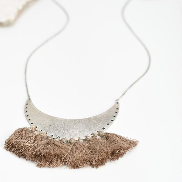Bohemia Thread & Tassel Necklace | Bohemian | Gypsy | Indie | Hippie Style