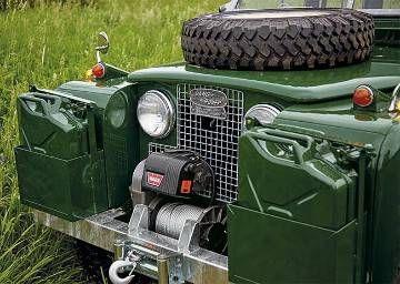 Restored 1962 Land Rover Series IIA / 1962 Land Rover Series IIA Model 109 -- Orvis