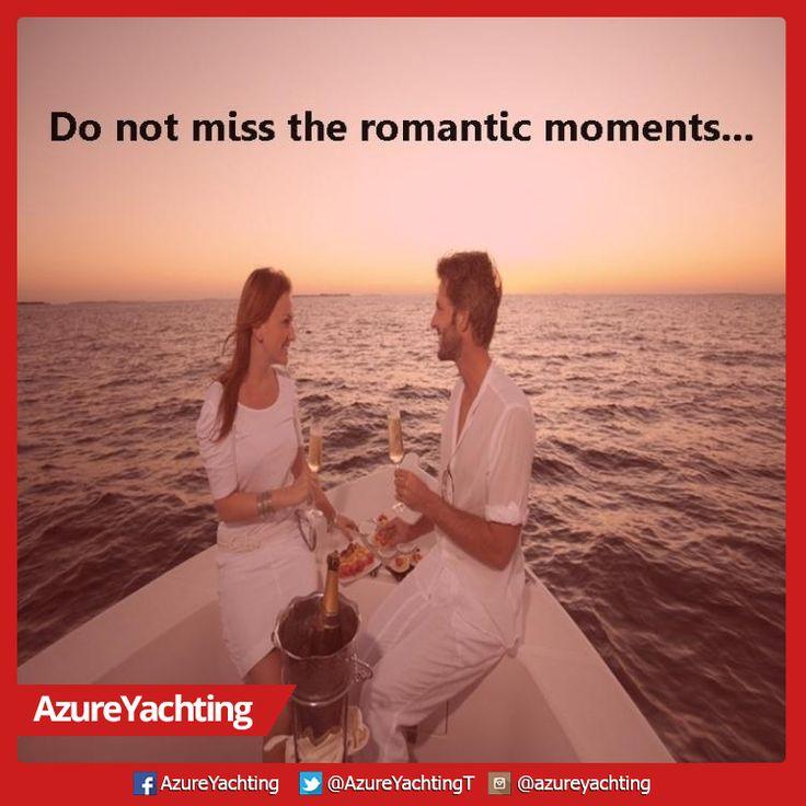 Romantik anları Azure Yachting ile yaşayın...:)  #AzureYachting #Yat #Tekne #TekneTuru #Romantizm