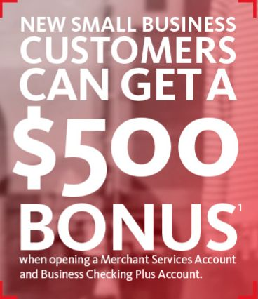 Santander Bank Small Business Checking Account and Merchant Services.