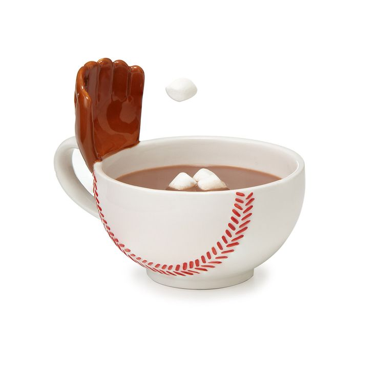 THE MUG WITH A GLOVE | baseball gift, kids | UncommonGoods