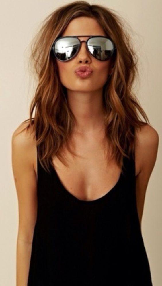 Cheryl Cole: Medium length summer waves. If I ever got my hair cut short, this…
