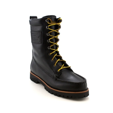 shop for mens wexham boot by polo ralph in black at