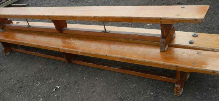 Remember these in PE and school assembly, always hard to sit on.