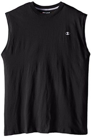 Champion Men's Big-Tall Jersey Muscle T-Shirt - Visit to see more options