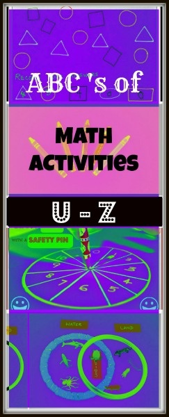 Math Activities from U to Z