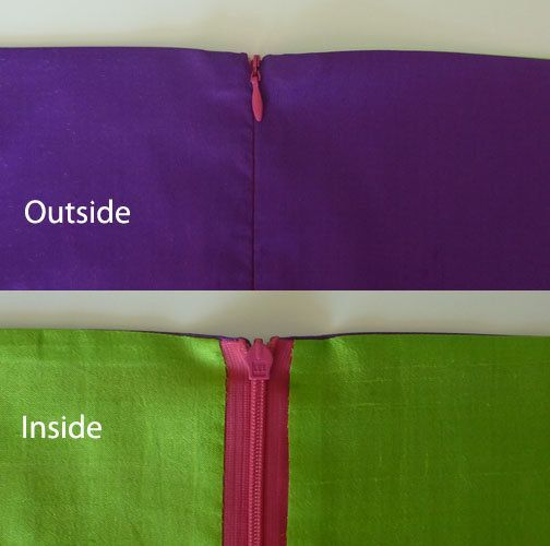 Finishing the Top of a Zipper - #sewing #tutorial