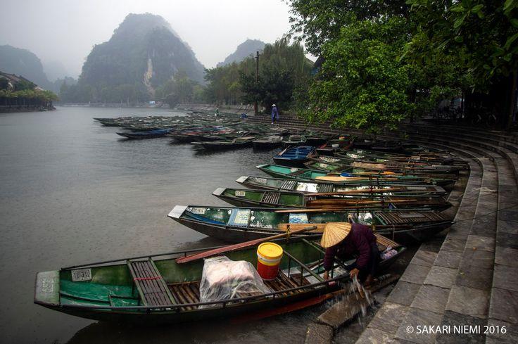 VN_160127 Vietnam_0311 Ngo Dong-joki Ninh Binhin provinssissa Pohjois-Vietnamissa