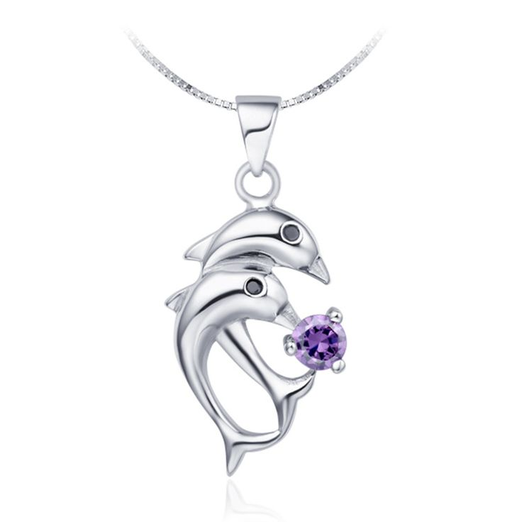 Find More Pendants Information about Dolphin Choker Sterling Silver Jewelry Statement Necklace Vintage Purple White Love Women Pendants Necklaces Bijoux Femme N301,High Quality necklace spider,China necklace usb flash drive Suppliers, Cheap necklace wholesale from ULove Fashion Jewelry Store on Aliexpress.com
