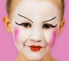 Grimtout, maquillage à l\u0027eau, princesse chinoise