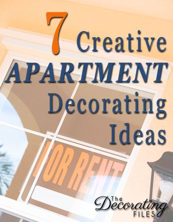 These 7 apartment decorating ideas will help you create a home you love. Even if its a small apartment with limited options, you can have a fabulous place.