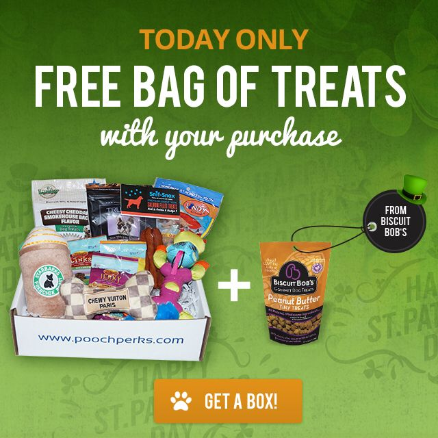 25 best sales discounts coupons oh my images on pinterest get a free bag of biscuitbobs treats with any poochperks order and get 17 off using code stpatty17 at checkout thats a paw tastic deal fandeluxe Gallery