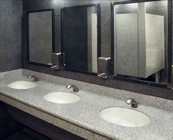Corian Countertop Material Buy : ... on Pinterest University of georgia, Black countertops and Masons