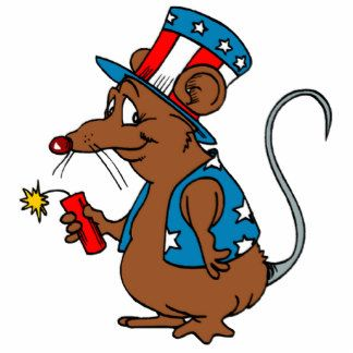 Image result for rat 4th of july cartoon