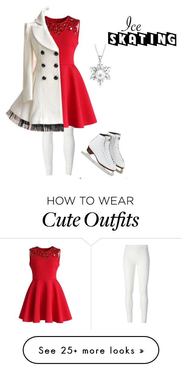 """""""Ice Skating Outfit"""" by mimi-minecrafter on Polyvore featuring Rick Owens Lilies, Bling Jewelry and Chicwish"""