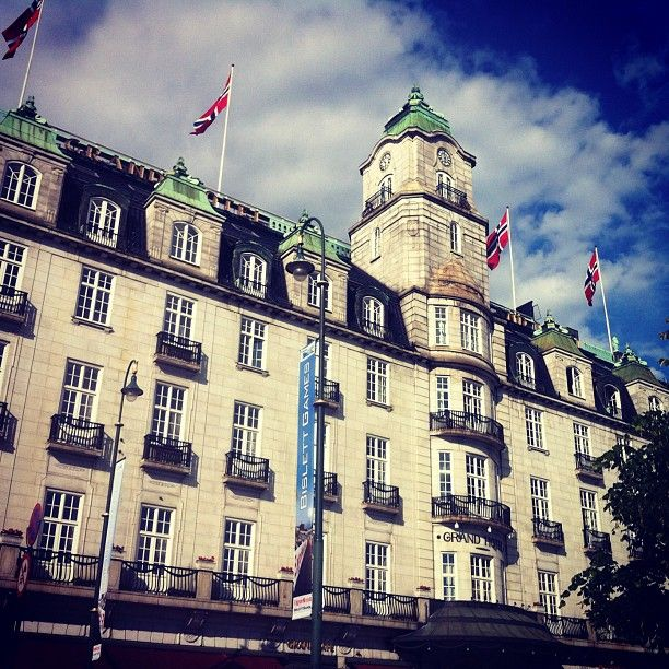 Grand Hotel in #Oslo #Norway