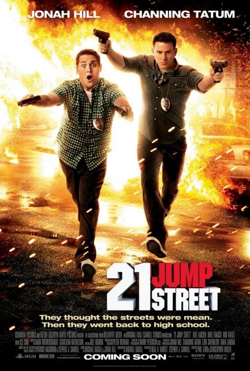 21 Jump Street  this movie was so much fun and hysterical. Would be awesome to watch at a movie night with friends and some yummy pizza