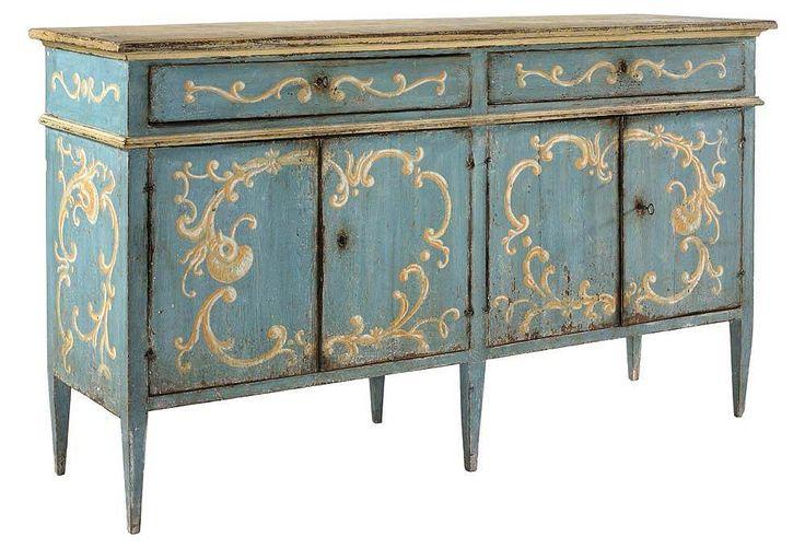 Mejores 146 im genes de muebles con estilo en pinterest - Muebles antiguos pintados ...