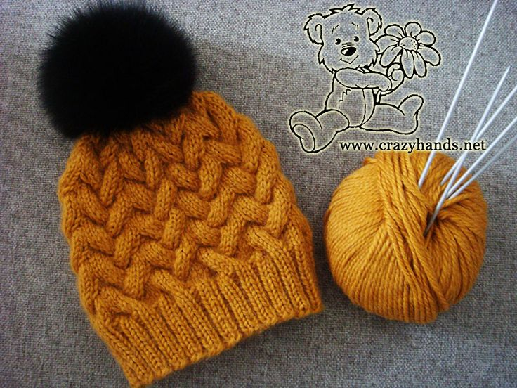 25+ basta Knit hat patterns ideerna pa Pinterest Stickning, Slokhatt och St...
