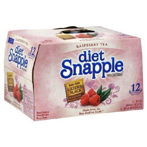 Snapple Raspberry Diet Tea 16 Fl Oz Pack of 12 ** Click on the image for additional details. (This is an affiliate link and I receive a commission for the sales)